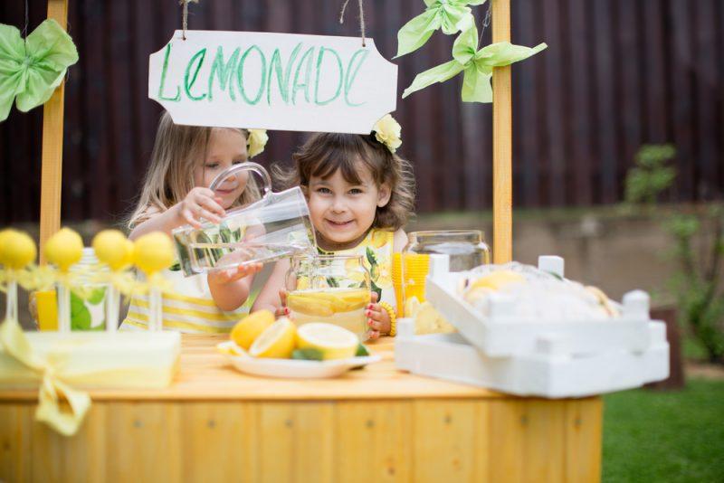 Лимонады для детей: фото