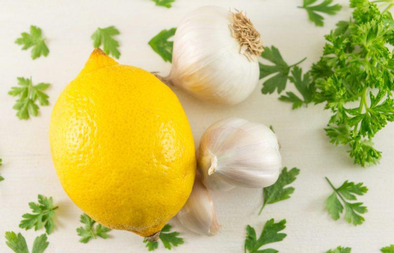 Ингредиенты для приготовления осетр по-царски: фото