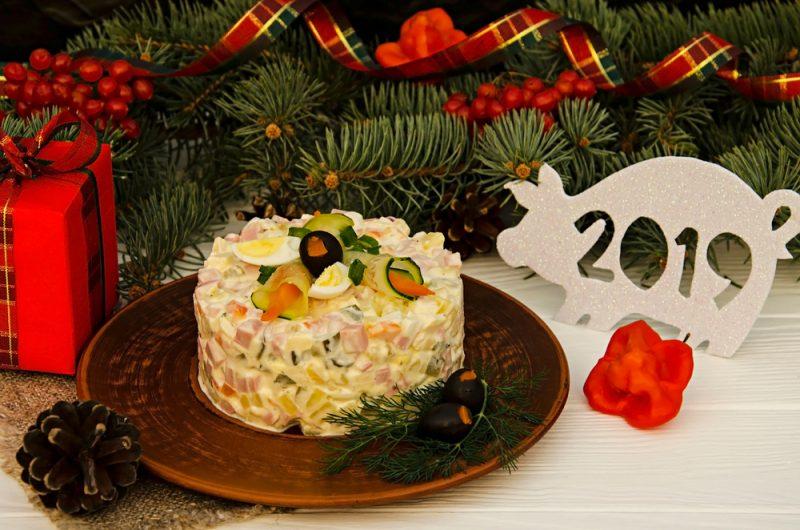 Фото салата с курицей