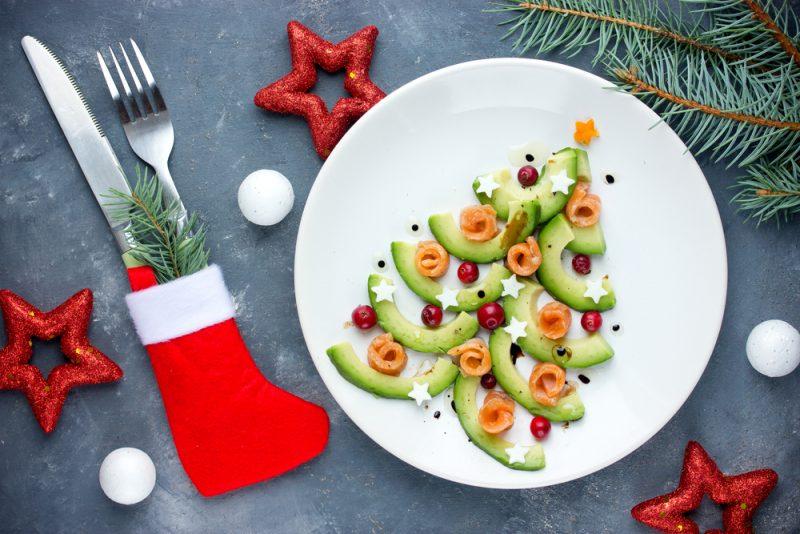 Фото новогоднего салата