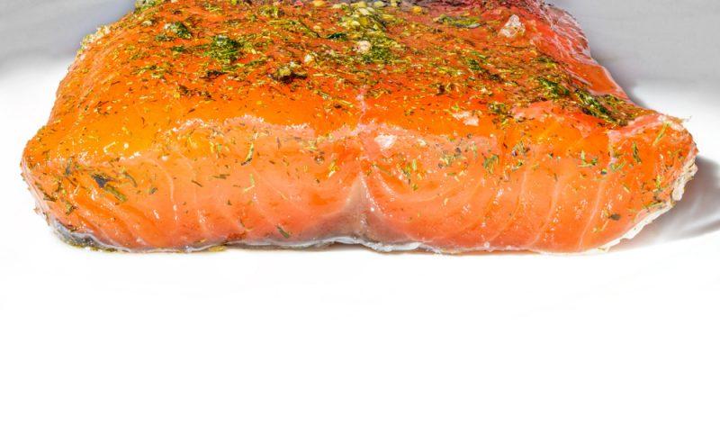Маринованный лосось: фото