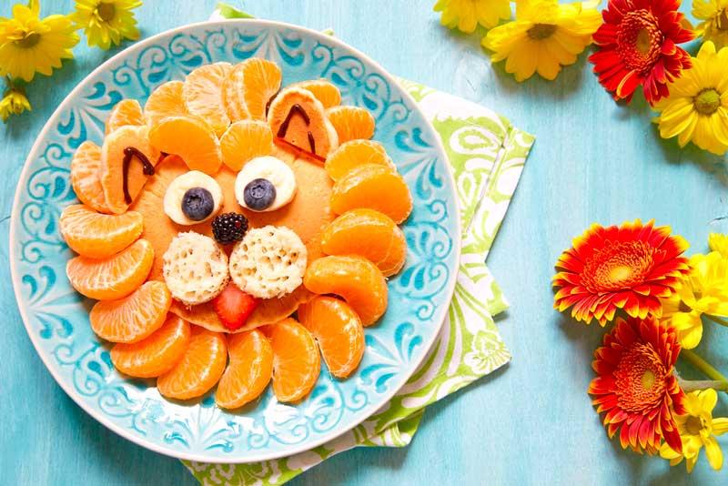 Закуска в виде зверей: фото