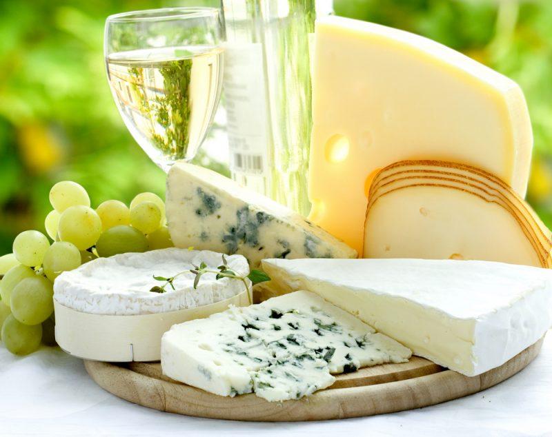 Сыр для винной тарелки: фото