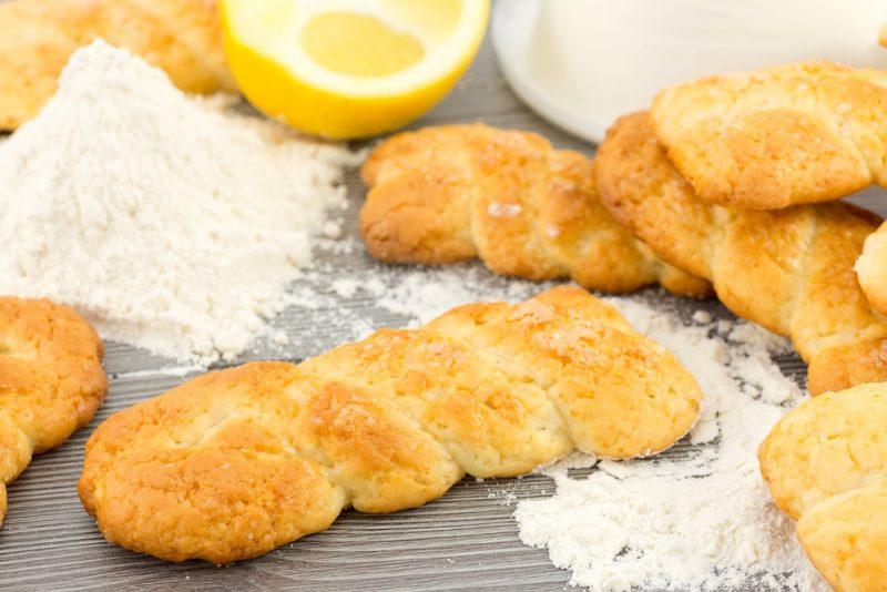 Лимонное творожное печенье: рецепт