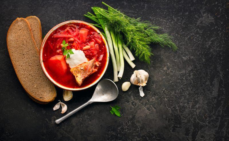 Борщ: классический рецепт