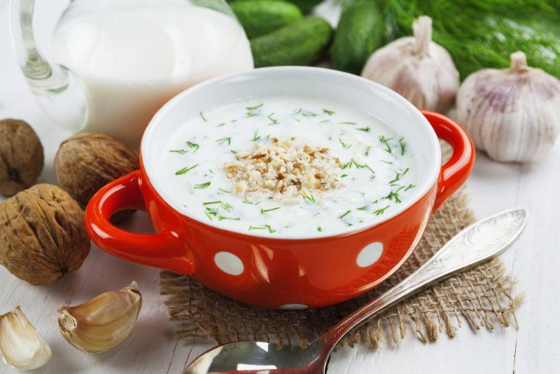 Болгарский холодный суп «Таратор»