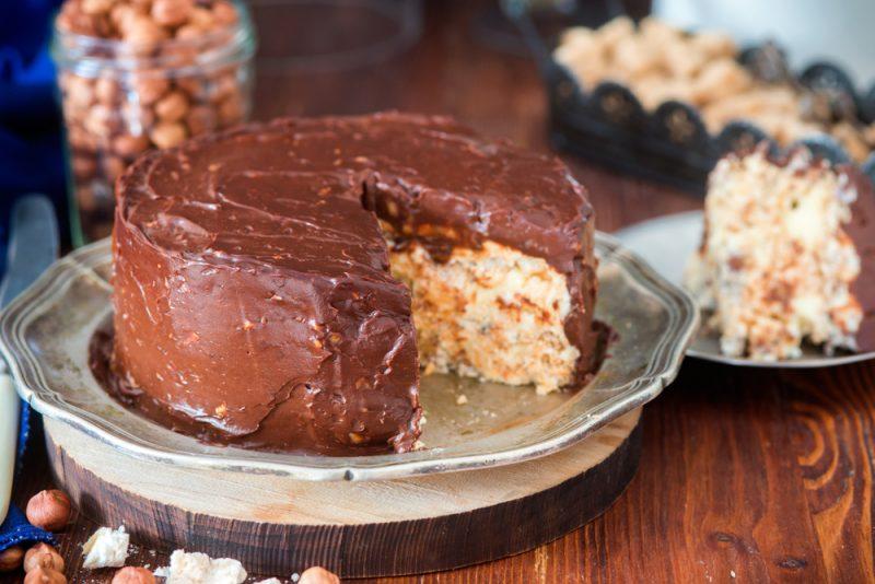 Торт по-киевски: рецепт с фото