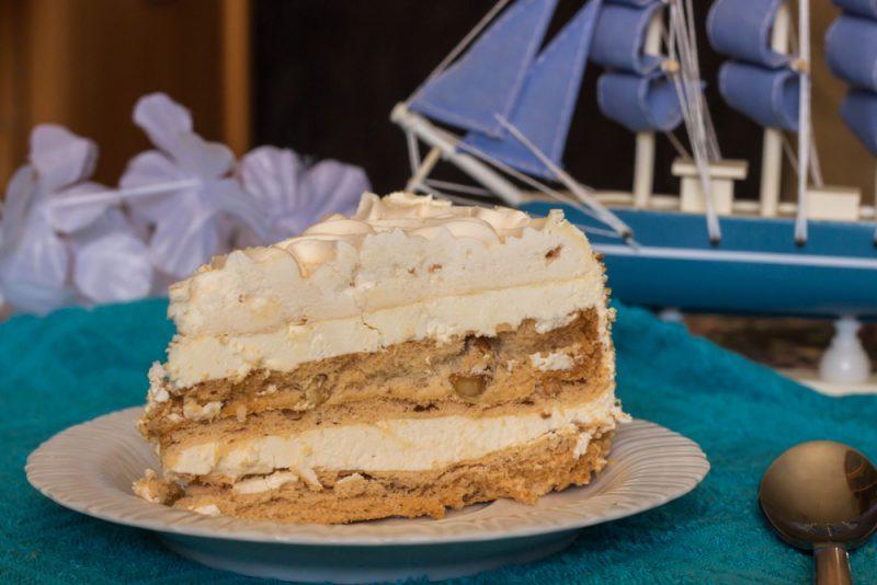 Торт по-киевски: рецепт