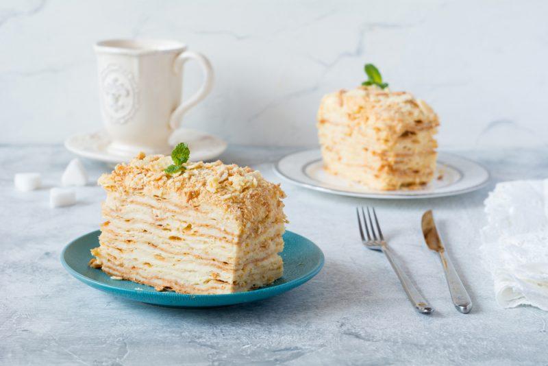 """Торт """"Наполеон"""": рецепт с фото"""
