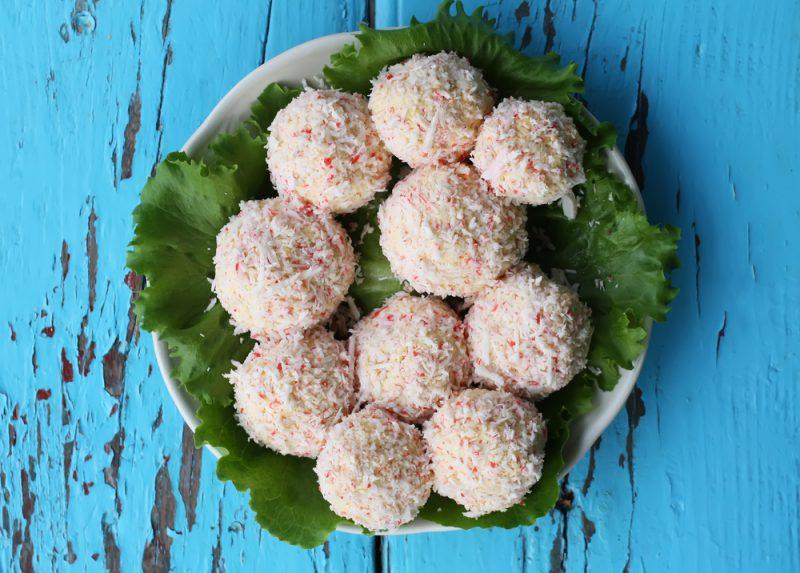 """Сырные шарики """"Рафаэлло"""": рецепт"""