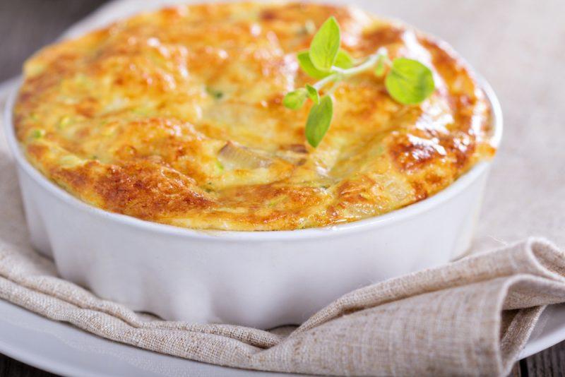 Заливной пирог из сыра: рецепт