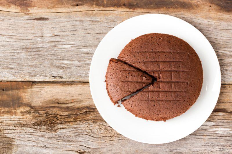 Шоколадный бисквит: рецепт с фото