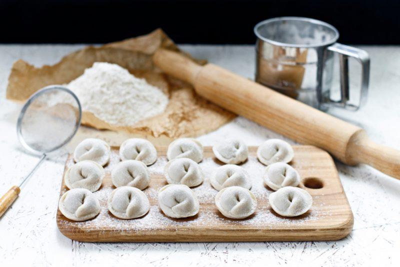 Заварное тесто для пельменей: рецепт с фото