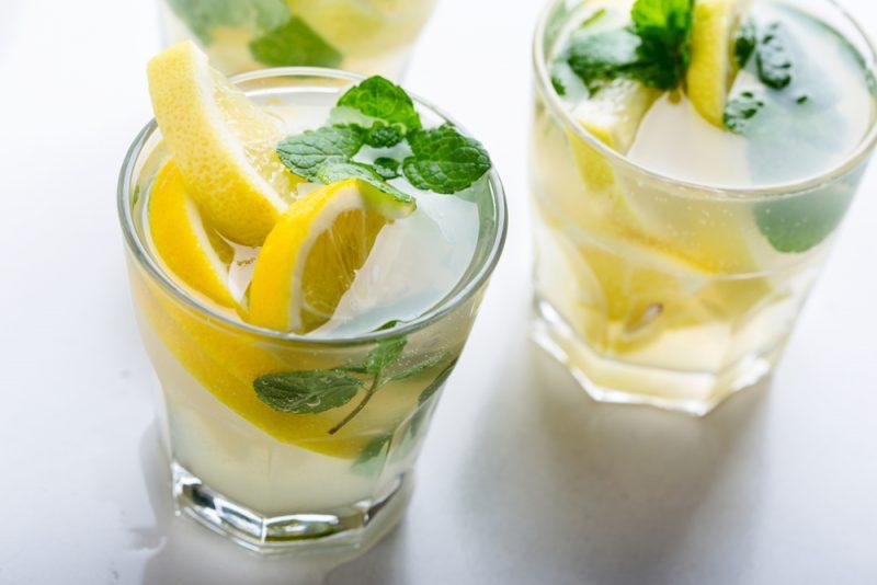 Освежающий цитрусовый лимонад: фото
