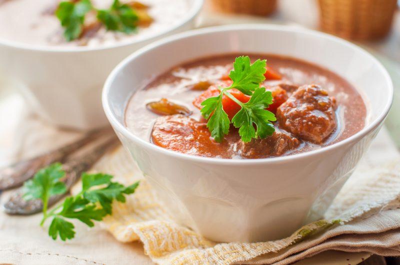 Немецкий густой суп пихельштайнер: рецепт