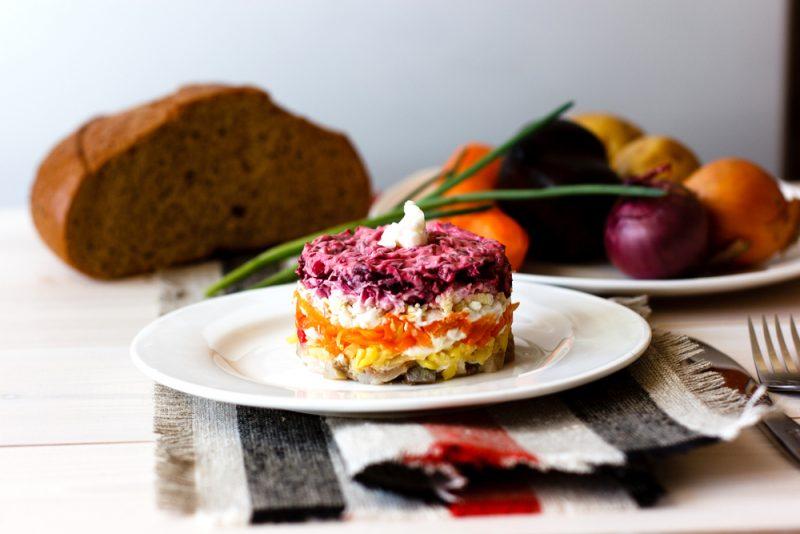 Селёдка под шубой: рецепт с фото