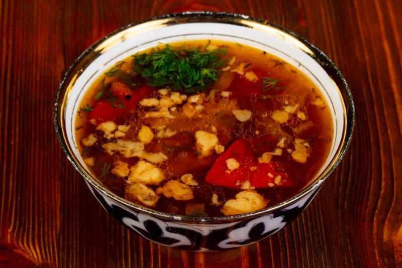 Настоящая шурпа из баранины: рецепт