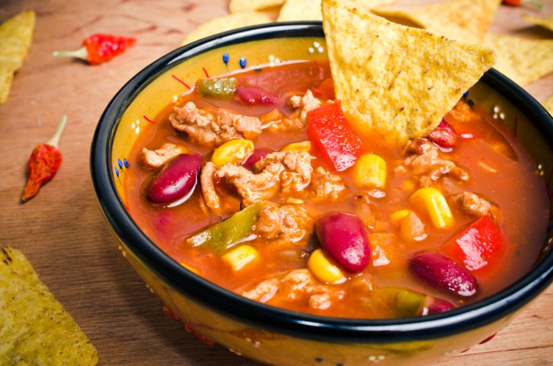 Острый мексиканский суп: рецепт с фото