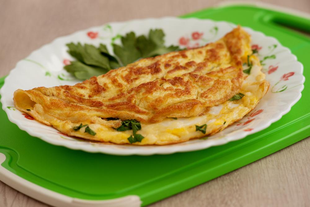 Омлет с овсянкой: пошаговый рецепт