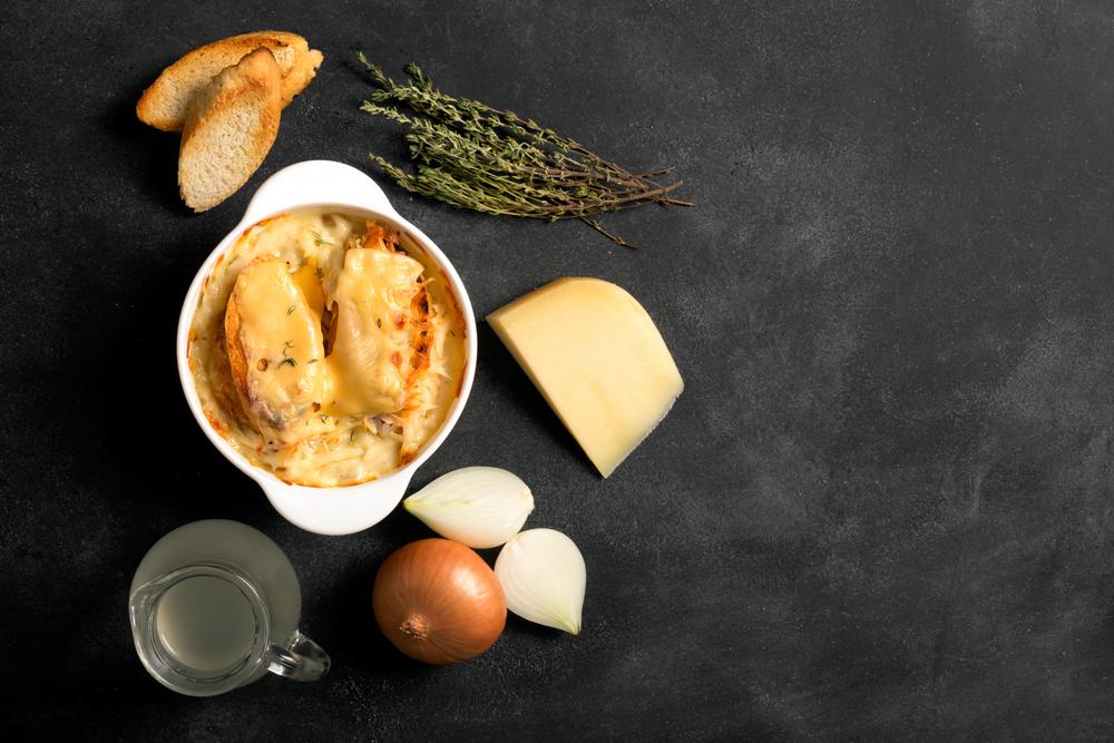 Луковый суп: пошаговые рецепты