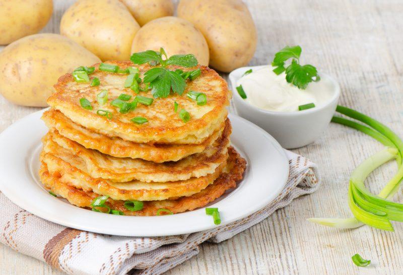 Картофельные драники: рецепты с фото