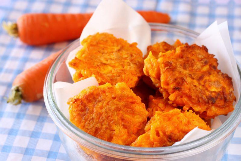картофельные драники с морковью