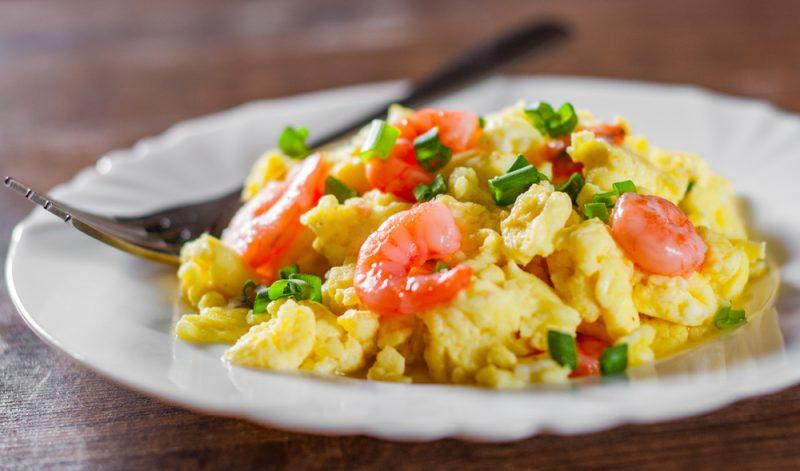 Омлет с морепродуктами: рецепт с фото