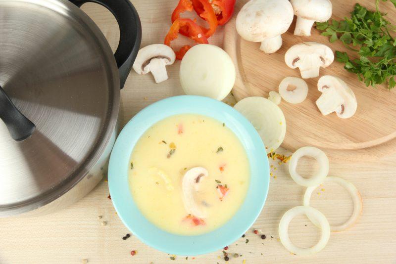 Луковый суп с грибами: рецепт с фото
