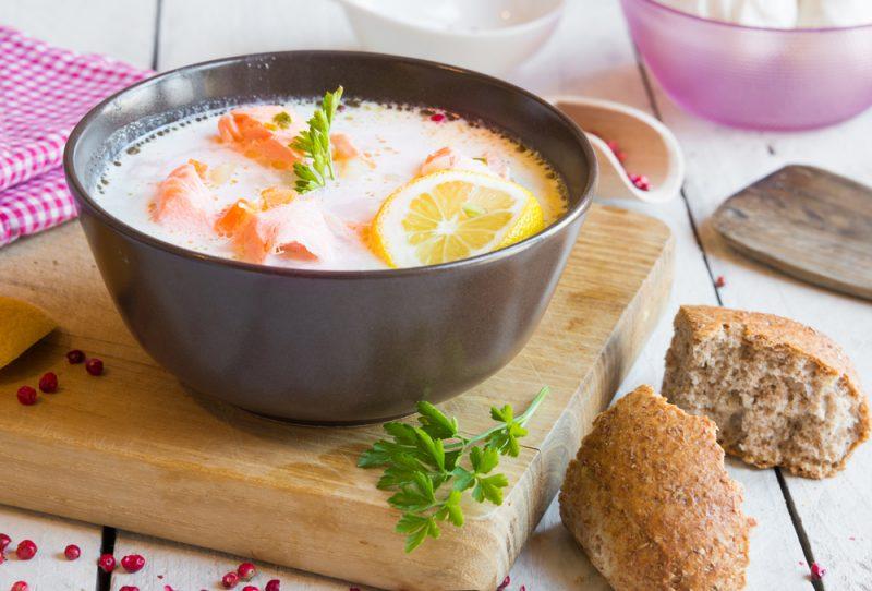 Варианты приготовления супа Чаудер: фото