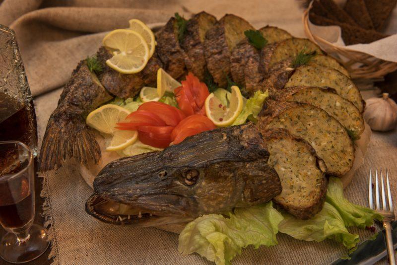 Фаршированная щука: пошаговые рецепты с фото