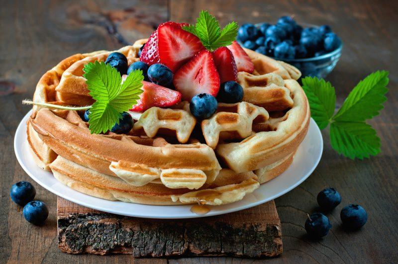 Вафли в вафельнице: пошаговый рецепт