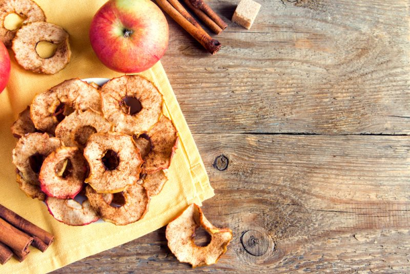 Яблочные чипсы: рецепт