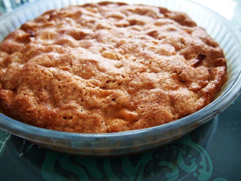 Пирог с яблоками в микроволновке: рецепт