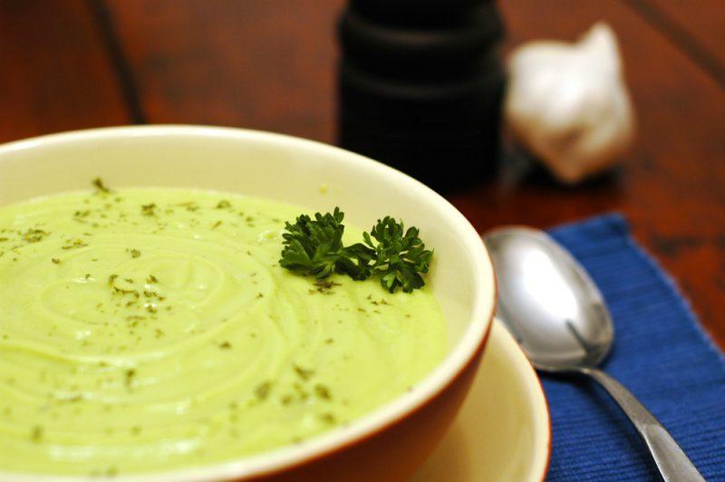 Суп-пюре из авокадо: рецепт