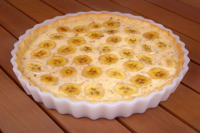 Банановый пудинг: рецепт
