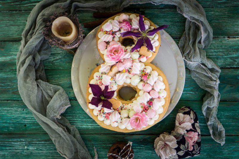 Медовый торт-цифра: рецепт