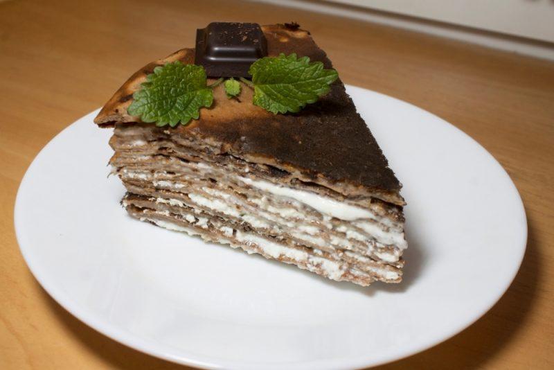 Блинный торт: самый вкусный рецепт