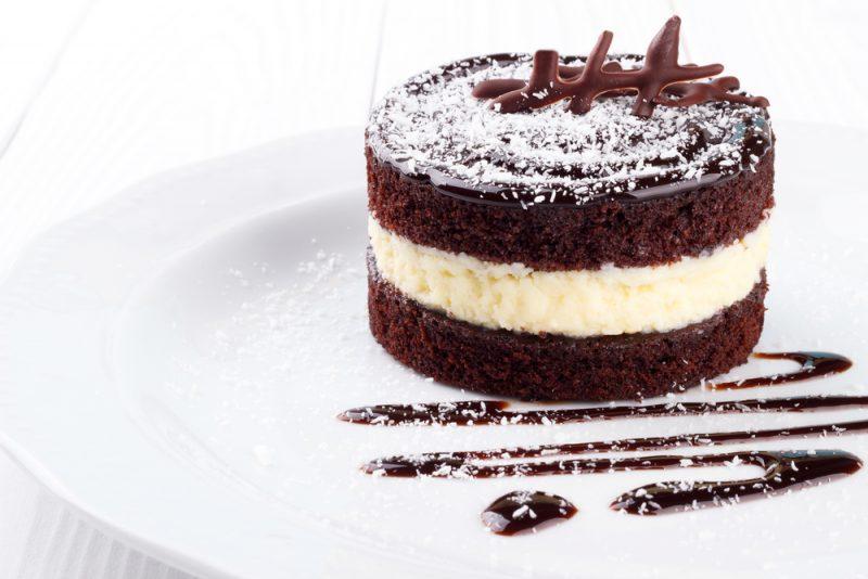 Рецепт тропического торта Баунти