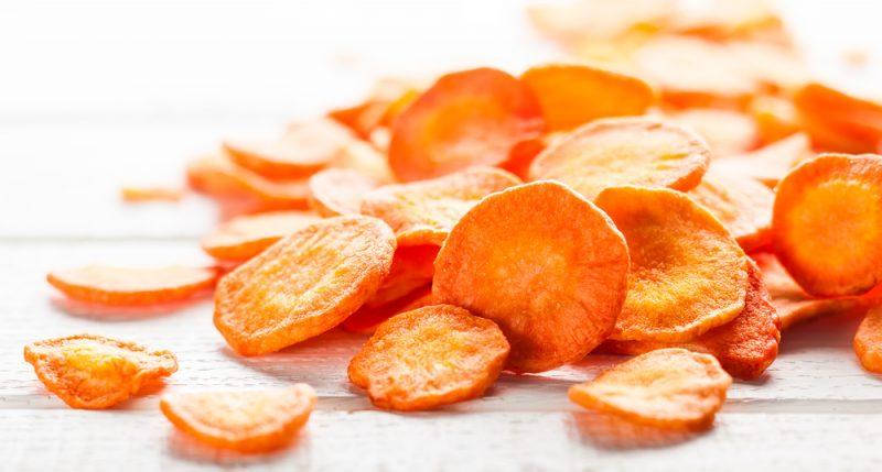 Морковные чипсы: рецепт