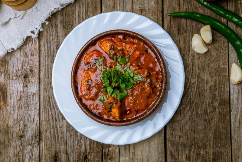 Рецепт чахохбили с курицей с фото