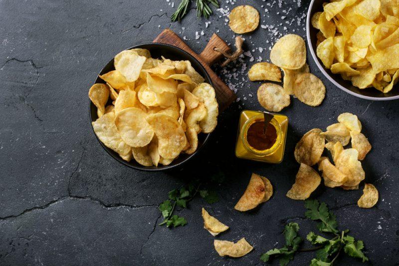 Картофельные чипсы: рецепт