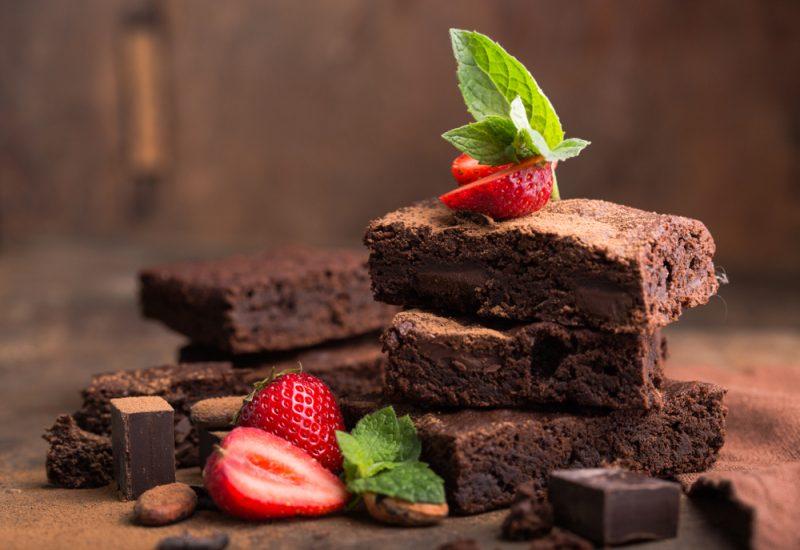 Шоколадный пирог с медом