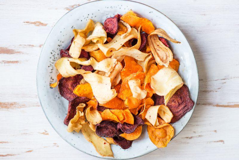 Овощные чипсы: рецепты