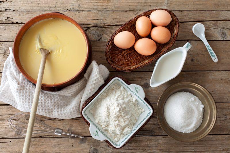 Заварной крем: рецепт с фото