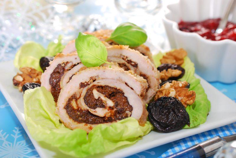 Котлеты по-киевски с начинкой из сухофруктов