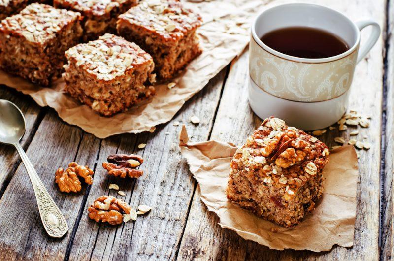 Рецепт диетического кекса в духовке