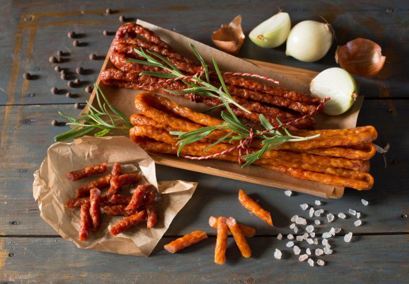 Рецепт вяленой колбасы из курицы