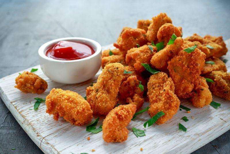 Куриные хрустики: рецепт