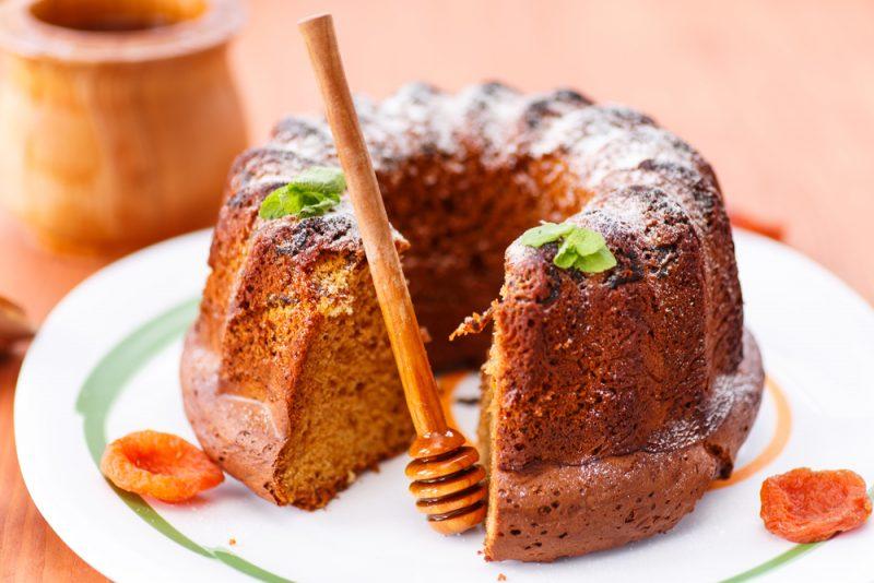 Медовый кекс: рецепт с фото