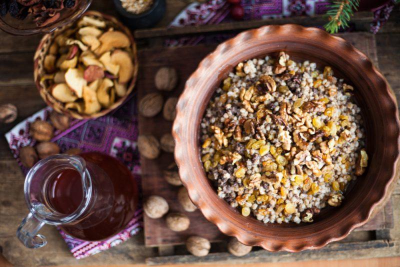 Богатая кутья из риса: рецепт